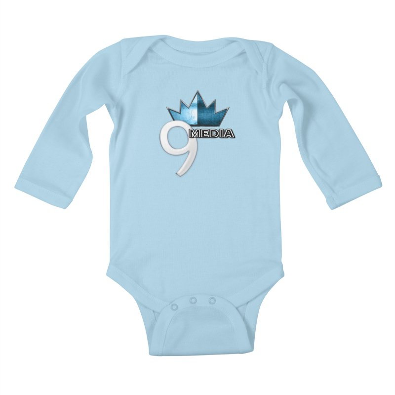 9 Media (Official) Kids Baby Longsleeve Bodysuit by 9 Media
