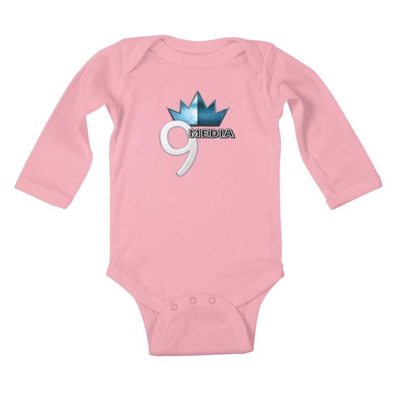 9 Media (Official) Kids Baby Longsleeve Bodysuit by 9Media's Artist Shop