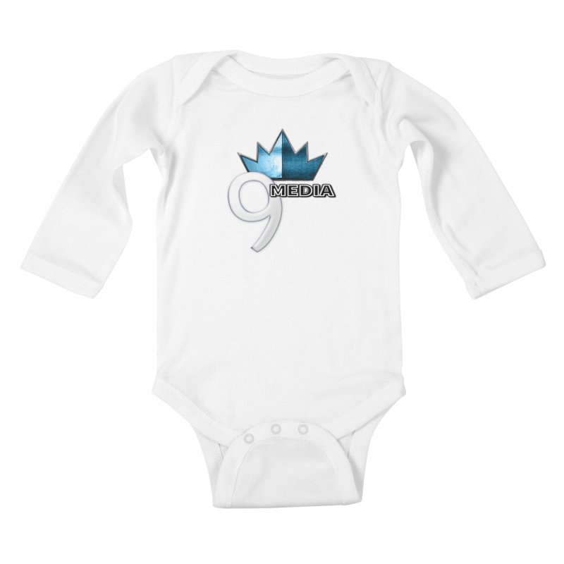 9 Media (Official) Kids Baby Longsleeve Bodysuit by 9 Media