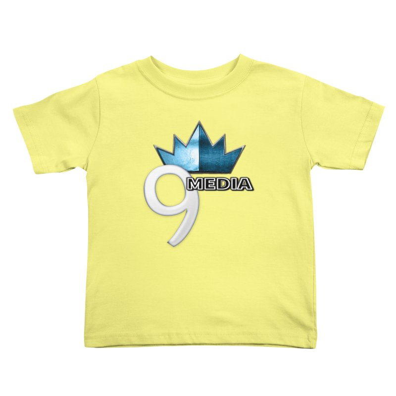 9 Media (Official) Kids Toddler T-Shirt by 9Media's Artist Shop