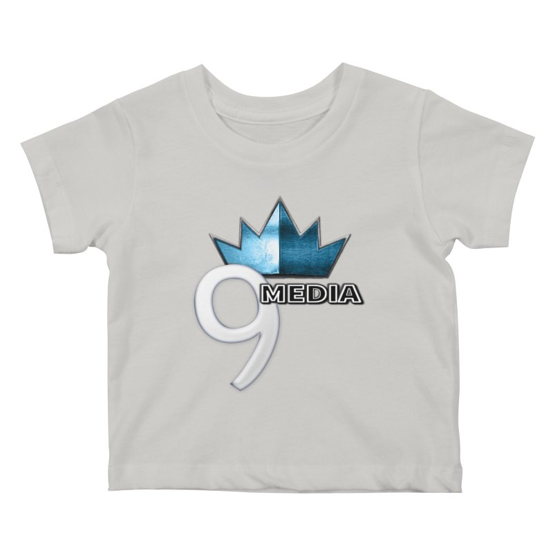 9 Media (Official) Kids Baby T-Shirt by 9Media's Artist Shop