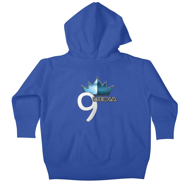 9 Media (Official) Kids Baby Zip-Up Hoody by 9Media's Artist Shop