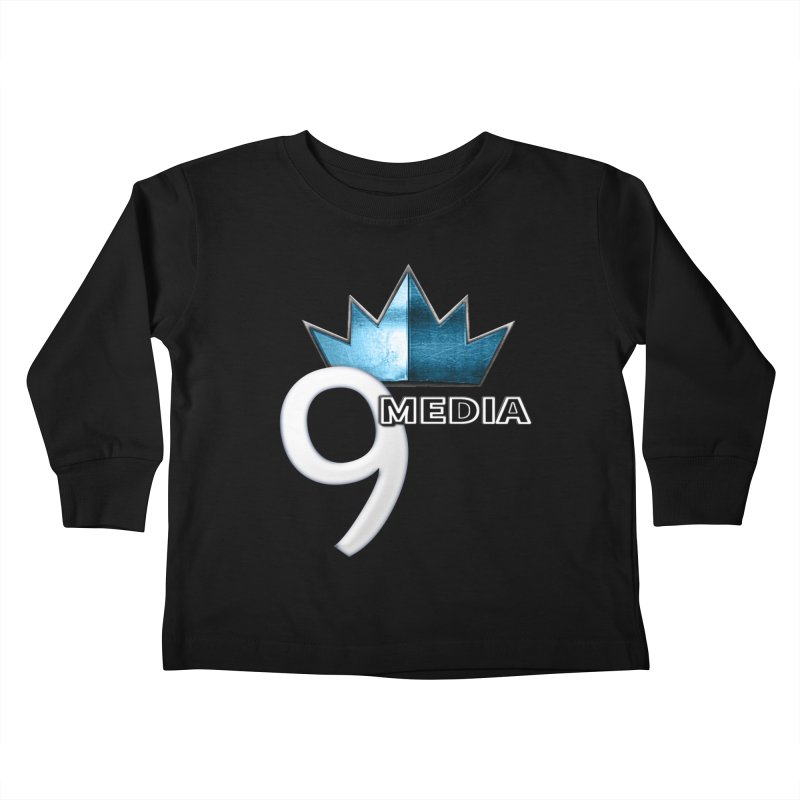 9 Media (Official) Kids Toddler Longsleeve T-Shirt by 9 Media