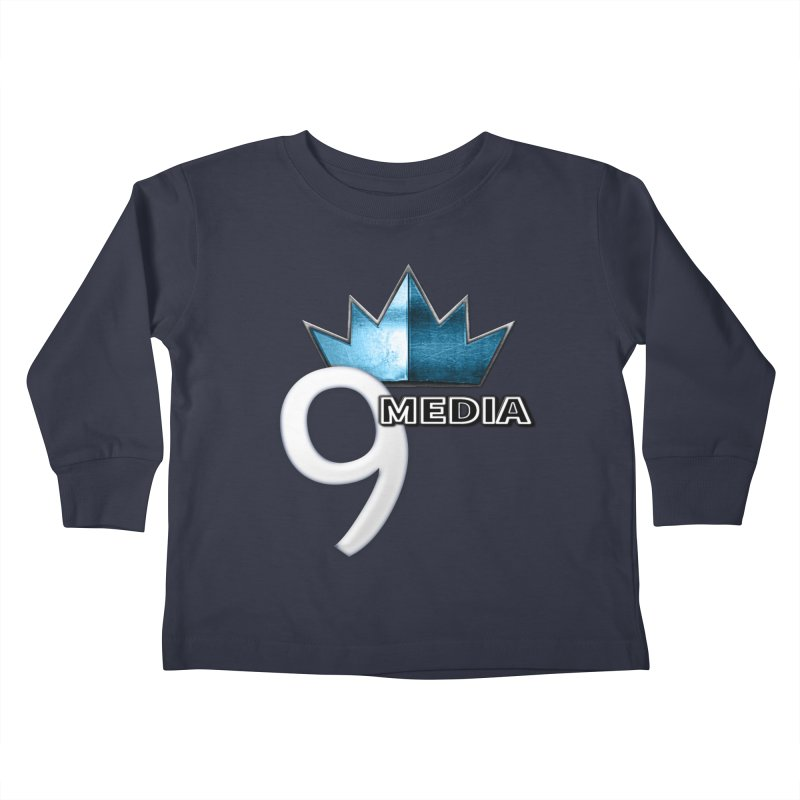 9 Media (Official) Kids Toddler Longsleeve T-Shirt by 9Media's Artist Shop