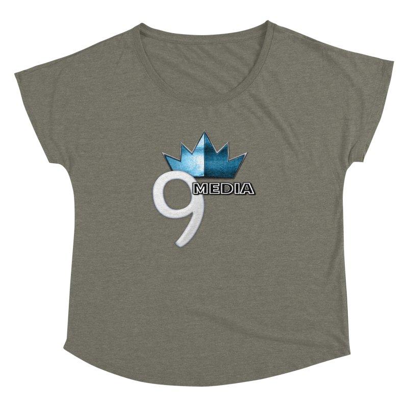9 Media (Official) Women's Dolman Scoop Neck by 9Media's Artist Shop