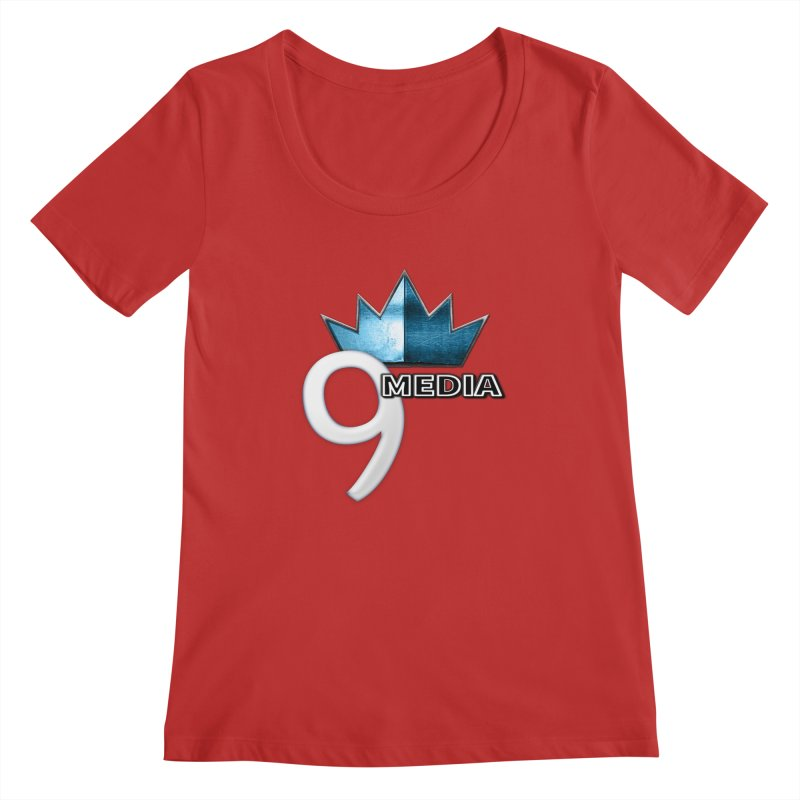 9 Media (Official) Women's Regular Scoop Neck by 9Media's Artist Shop