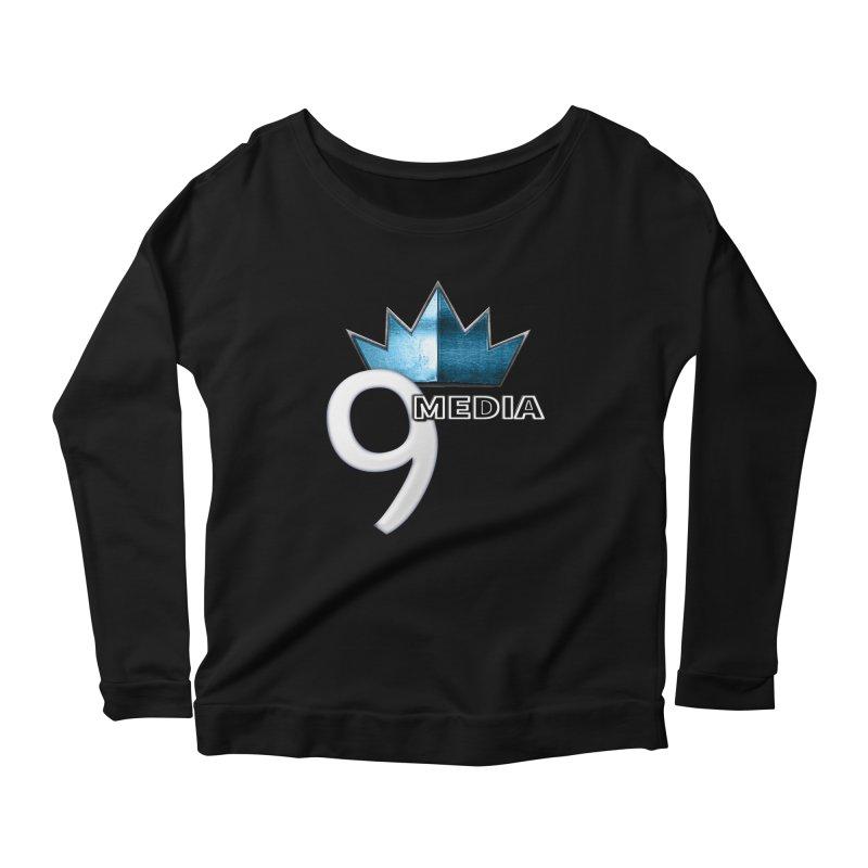 9 Media (Official) Women's Longsleeve Scoopneck  by 9Media's Artist Shop