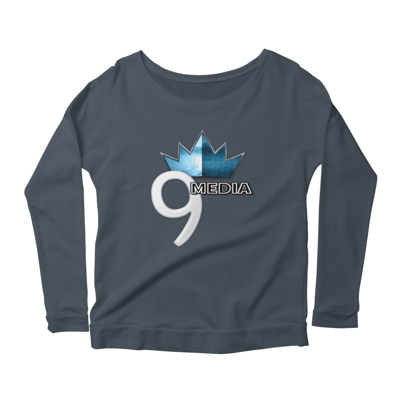 9 Media (Official) Women's Scoop Neck Longsleeve T-Shirt by 9Media's Artist Shop