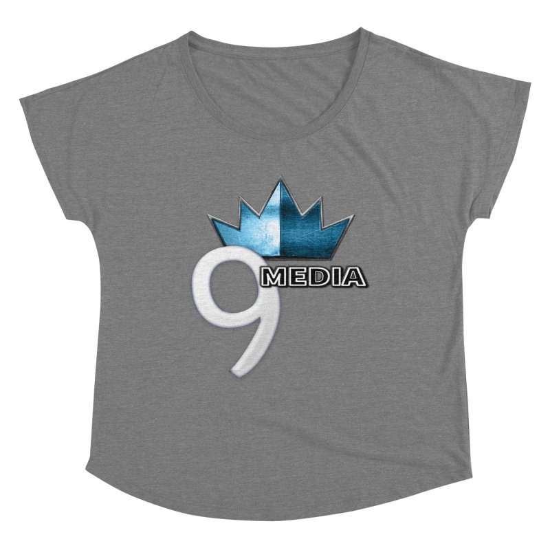 9 Media (Official) Women's Scoop Neck by 9 Media