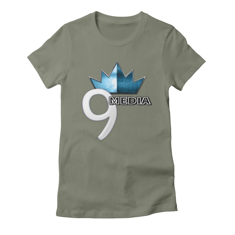9 Media (Official) Women's Fitted T-Shirt by 9Media's Artist Shop