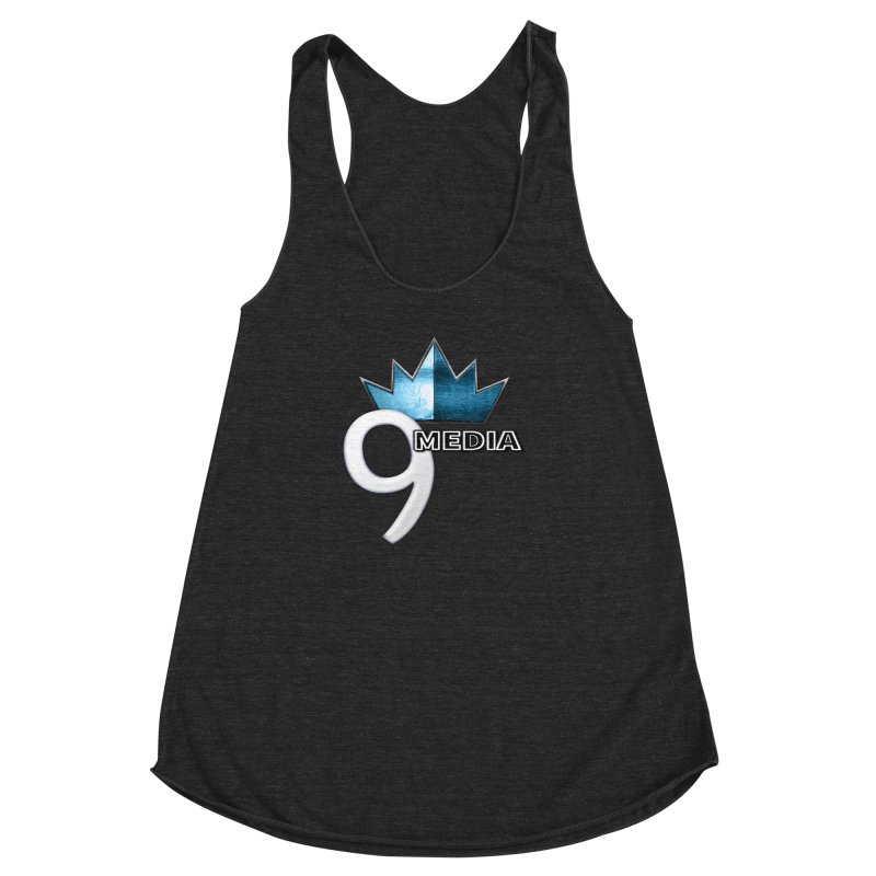 9 Media (Official) Women's Racerback Triblend Tank by 9Media's Artist Shop