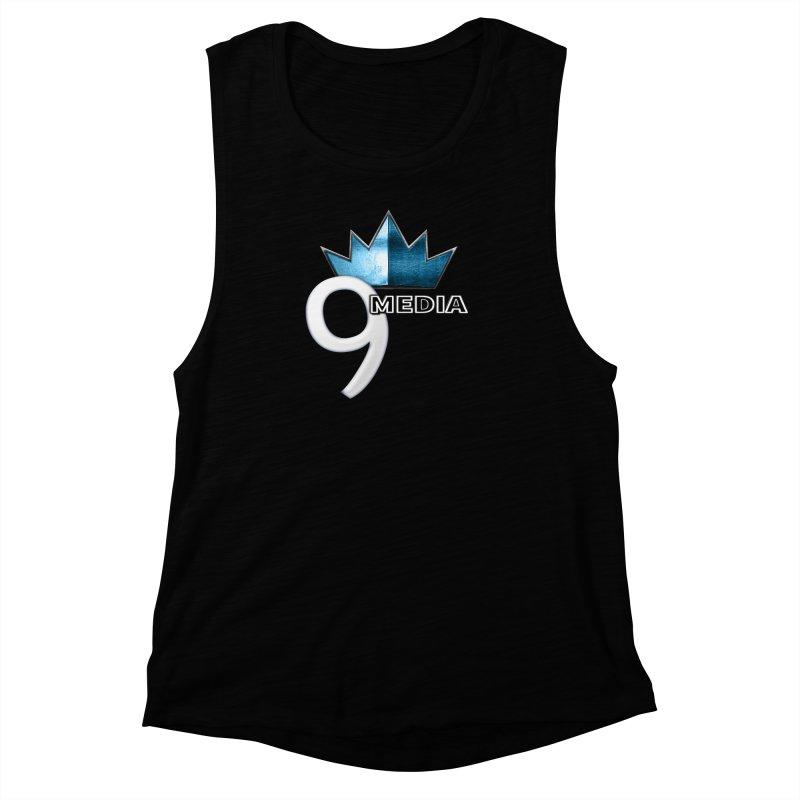 9 Media (Official) Women's Muscle Tank by 9Media's Artist Shop
