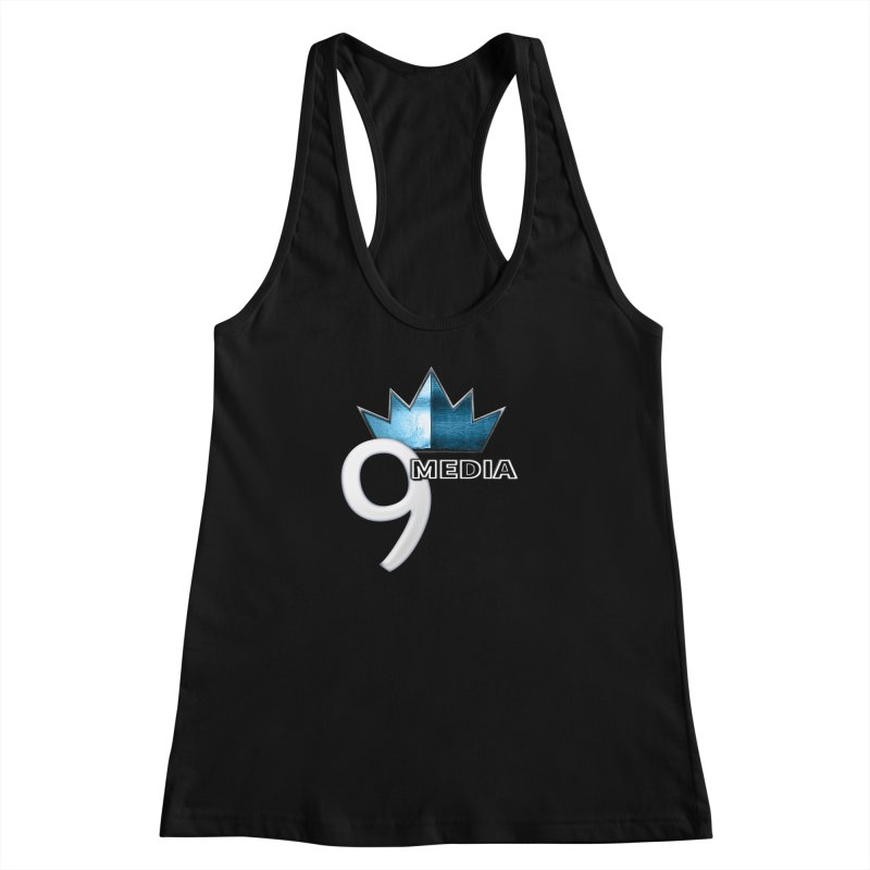 9 Media (Official) Women's Racerback Tank by 9 Media