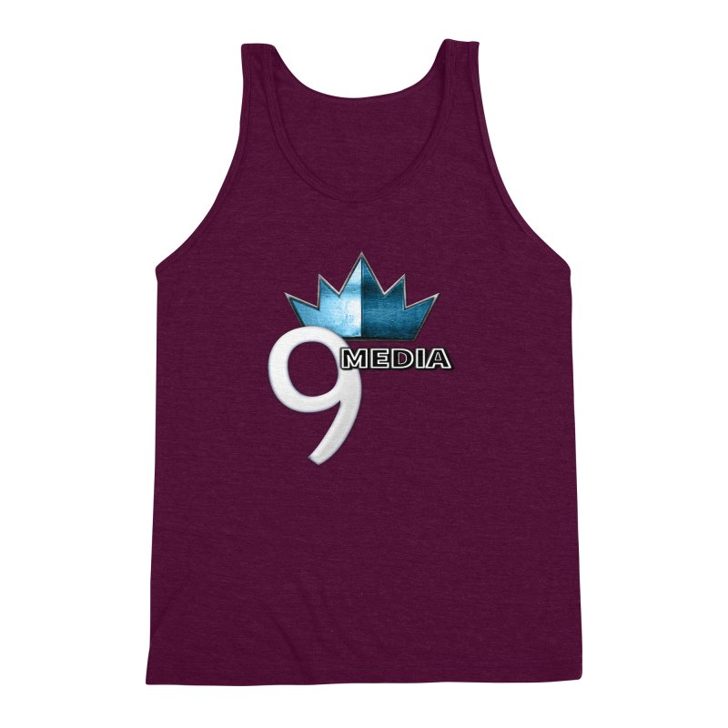 9 Media (Official) Men's Triblend Tank by 9 Media