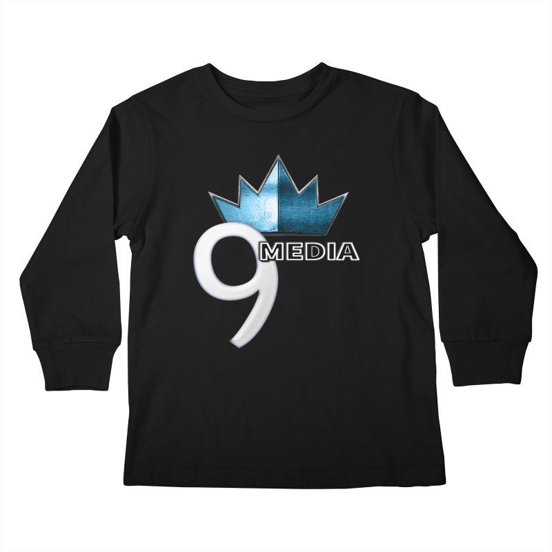 9 Media (Official) Kids Longsleeve T-Shirt by 9 Media