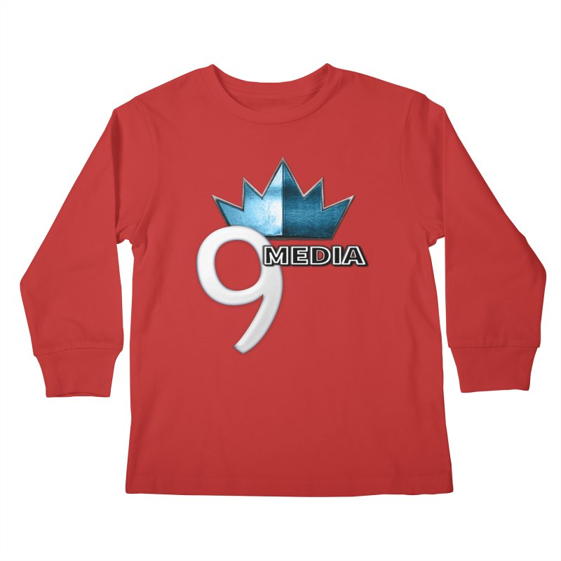 9 Media (Official) Kids Longsleeve T-Shirt by 9 Media