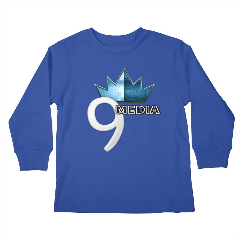 9 Media (Official) Kids Longsleeve T-Shirt by 9Media's Artist Shop