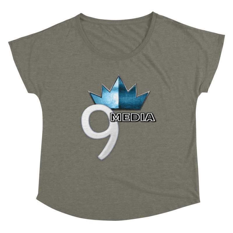 9 Media (Official) Women's Scoop Neck by 9 Media