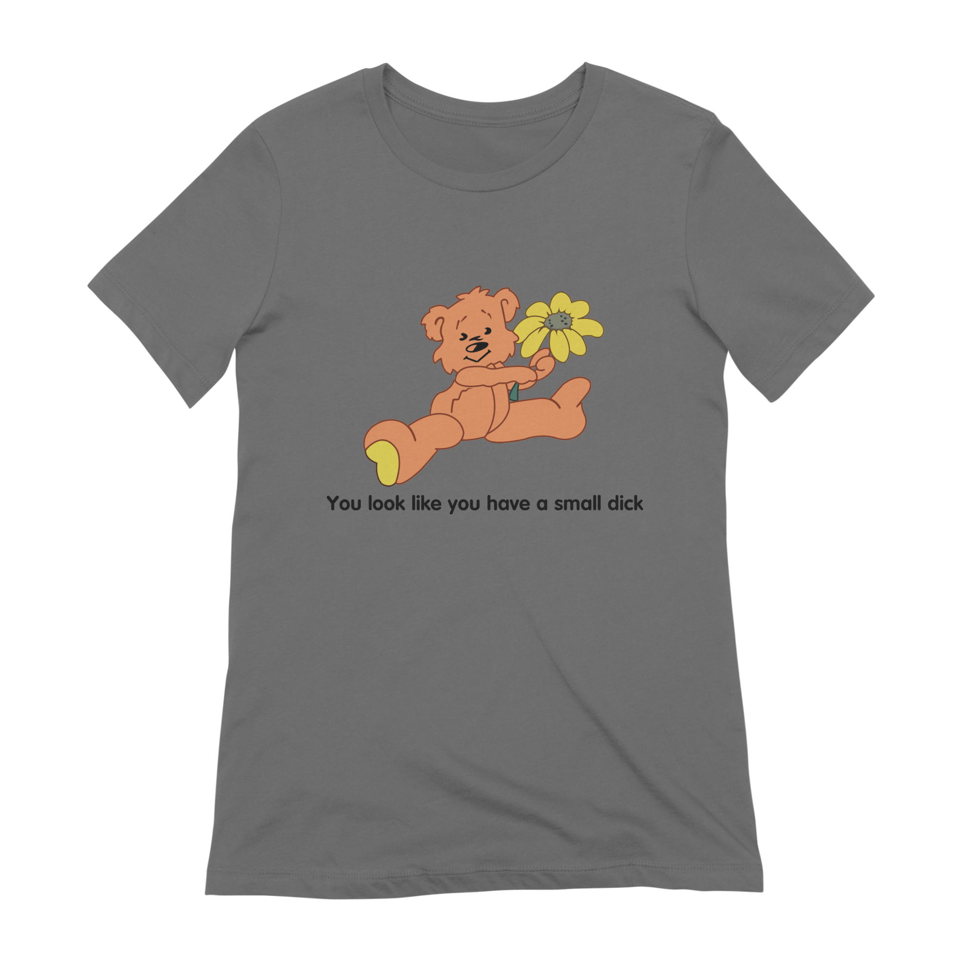 b1ec50579 9tees you-look-like-you-have-a-small-dick-funny-bear-shirt womens
