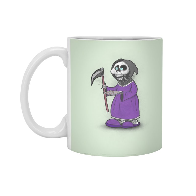 Gram Reaper Accessories Standard Mug by 9th Mountain Threads