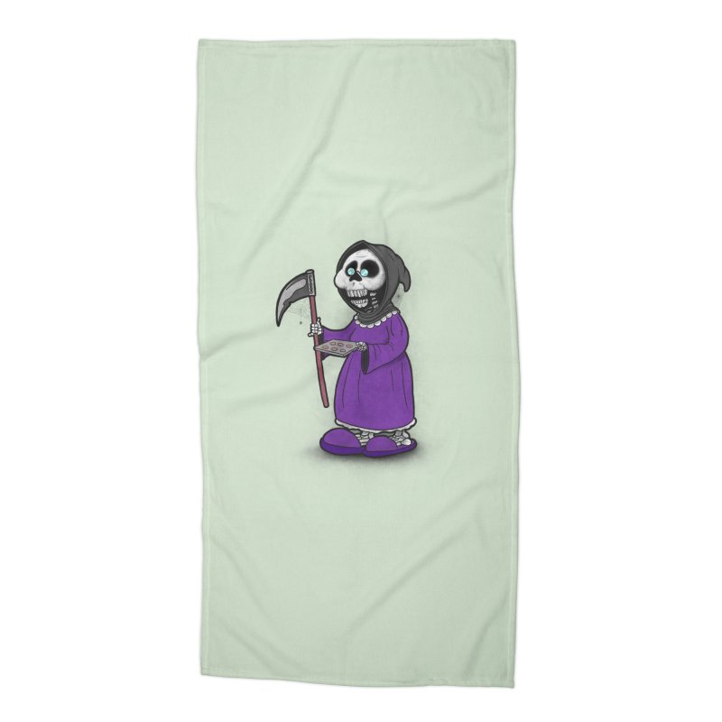 Gram Reaper Accessories Beach Towel by 9th Mountain Threads
