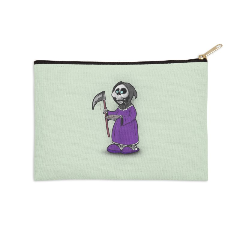 Gram Reaper Accessories Zip Pouch by 9th Mountain Threads
