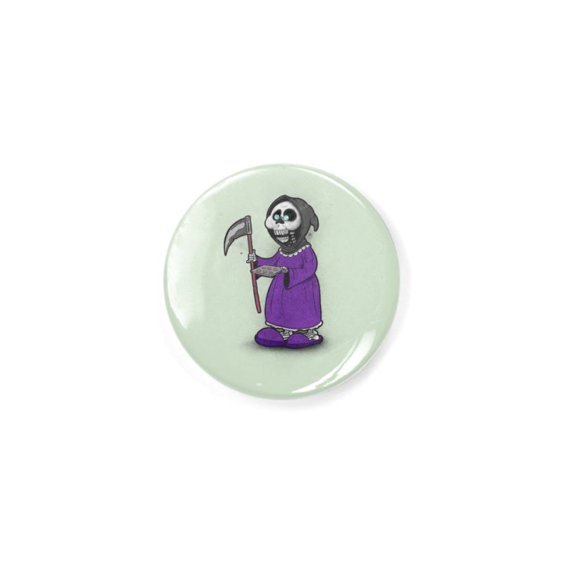 Gram Reaper Accessories Button by 9th Mountain Threads
