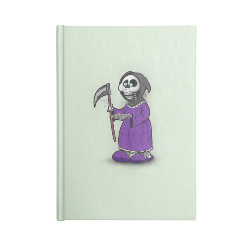 Gram Reaper Accessories Blank Journal Notebook by 9th Mountain Threads