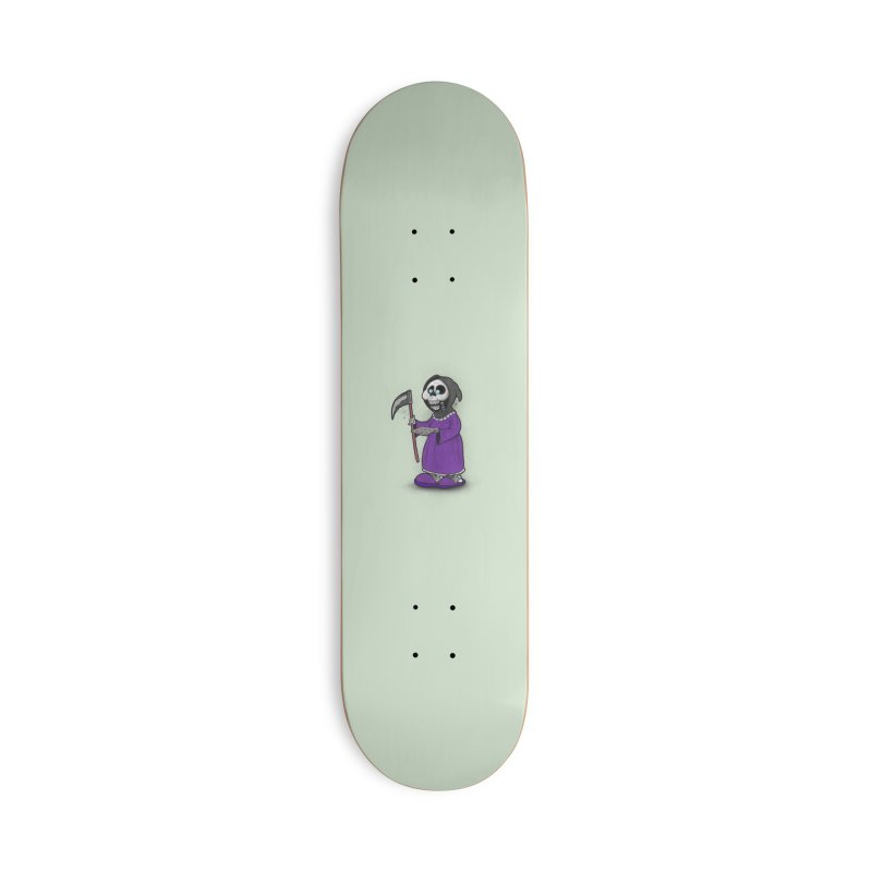 Gram Reaper Accessories Deck Only Skateboard by 9th Mountain Threads