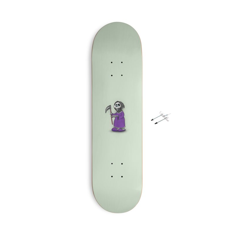 Gram Reaper Accessories With Hanging Hardware Skateboard by 9th Mountain Threads