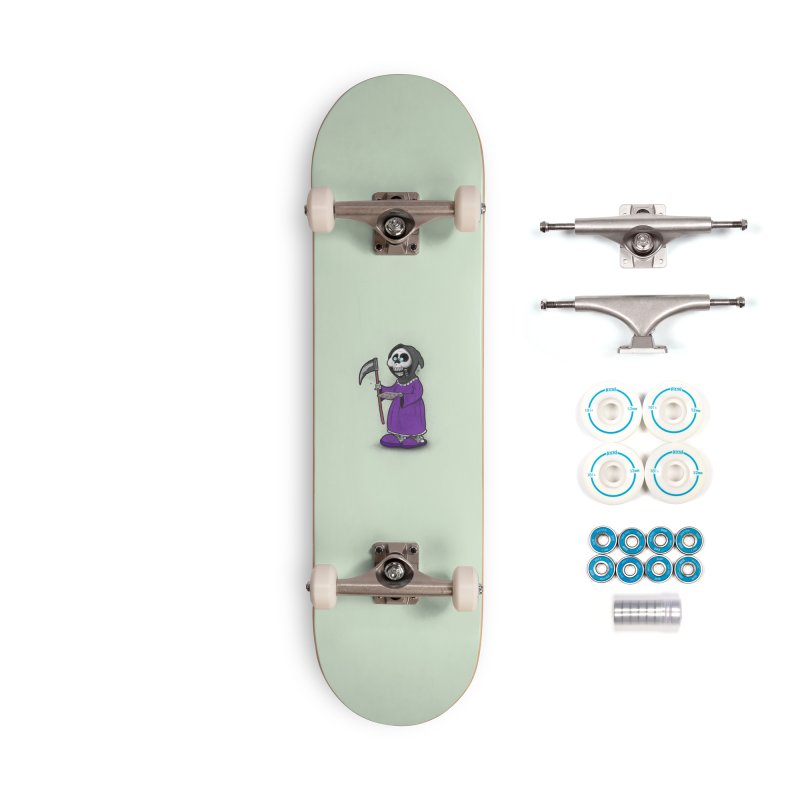 Gram Reaper Accessories Complete - Basic Skateboard by 9th Mountain Threads
