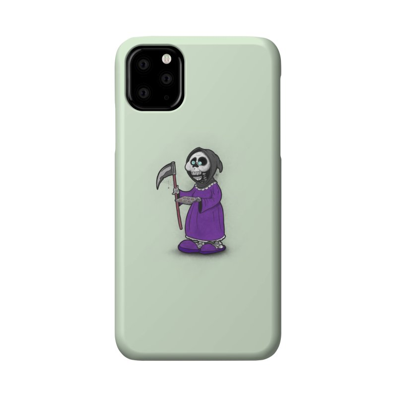 Gram Reaper Accessories Phone Case by 9th Mountain Threads