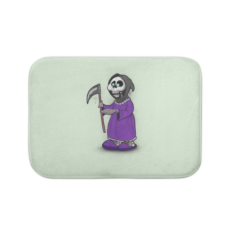 Gram Reaper Home Bath Mat by 9th Mountain Threads