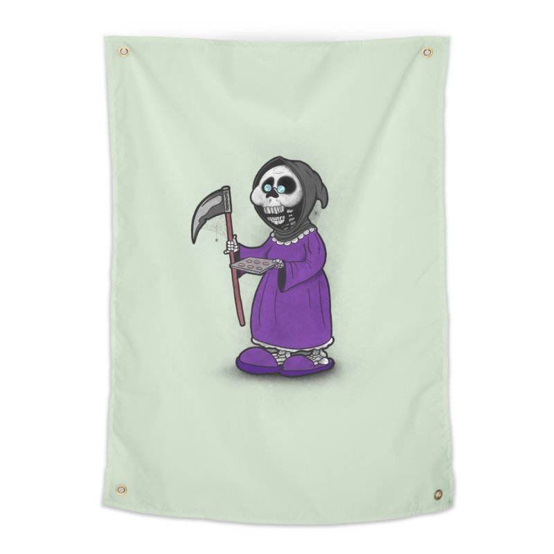 Gram Reaper Home Tapestry by 9th Mountain Threads