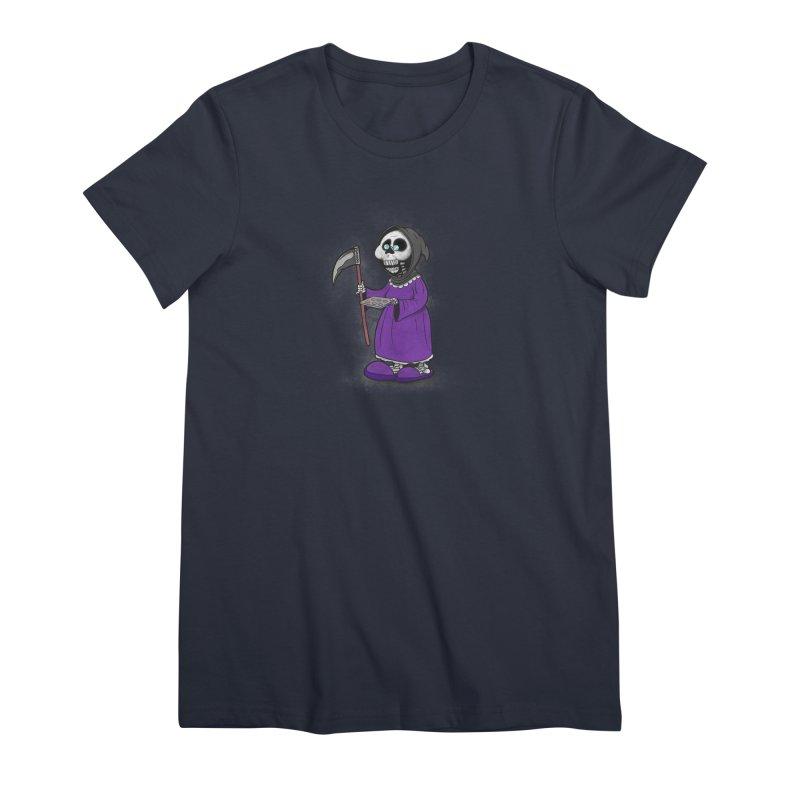 Gram Reaper Women's Premium T-Shirt by 9th Mountain Threads