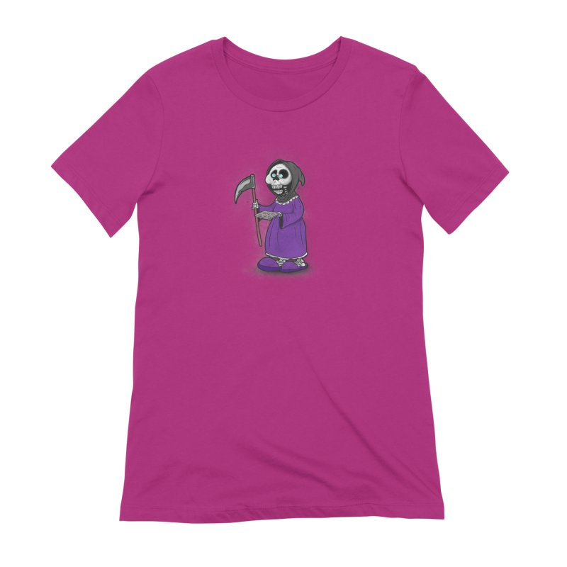 Gram Reaper Women's Extra Soft T-Shirt by 9th Mountain Threads