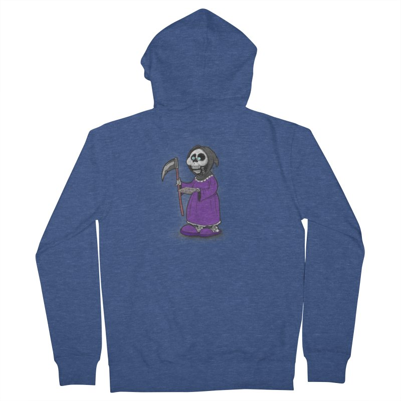 Gram Reaper Women's French Terry Zip-Up Hoody by 9th Mountain Threads