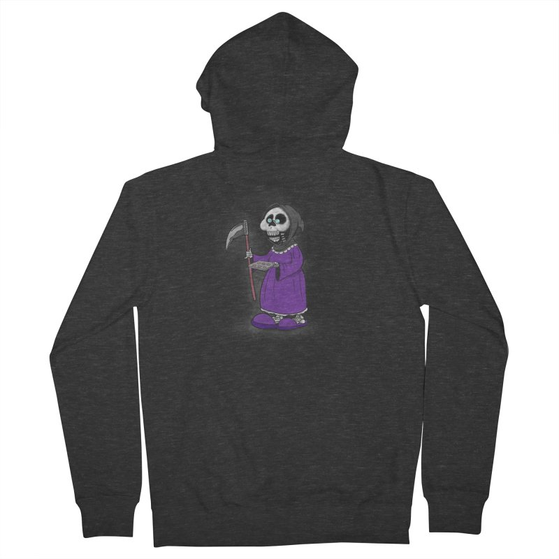 Gram Reaper Men's French Terry Zip-Up Hoody by 9th Mountain Threads