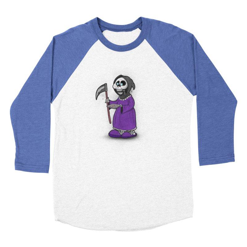 Gram Reaper Women's Baseball Triblend Longsleeve T-Shirt by 9th Mountain Threads