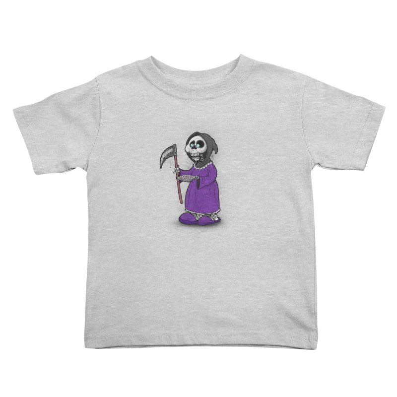 Gram Reaper Kids Toddler T-Shirt by 9th Mountain Threads