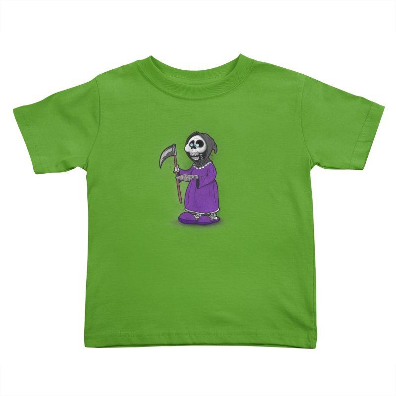 Gram Reaper Kids Toddler T-Shirt by 9th Mountain Threads