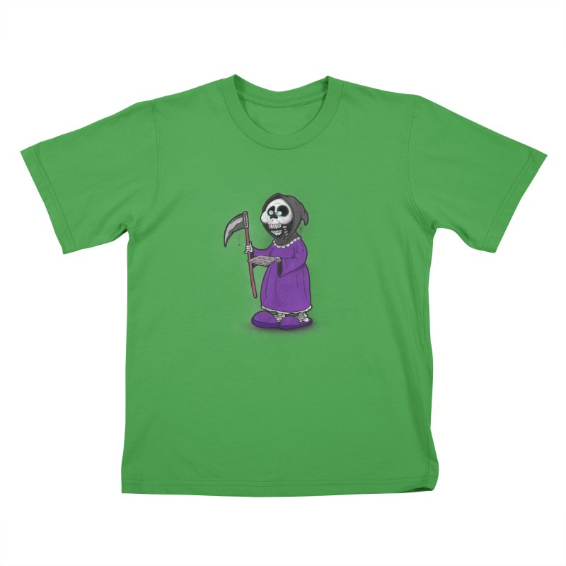 Gram Reaper Kids T-Shirt by 9th Mountain Threads