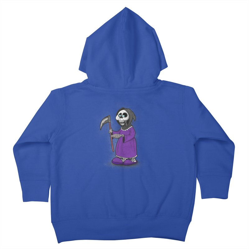 Gram Reaper Kids Toddler Zip-Up Hoody by 9th Mountain Threads