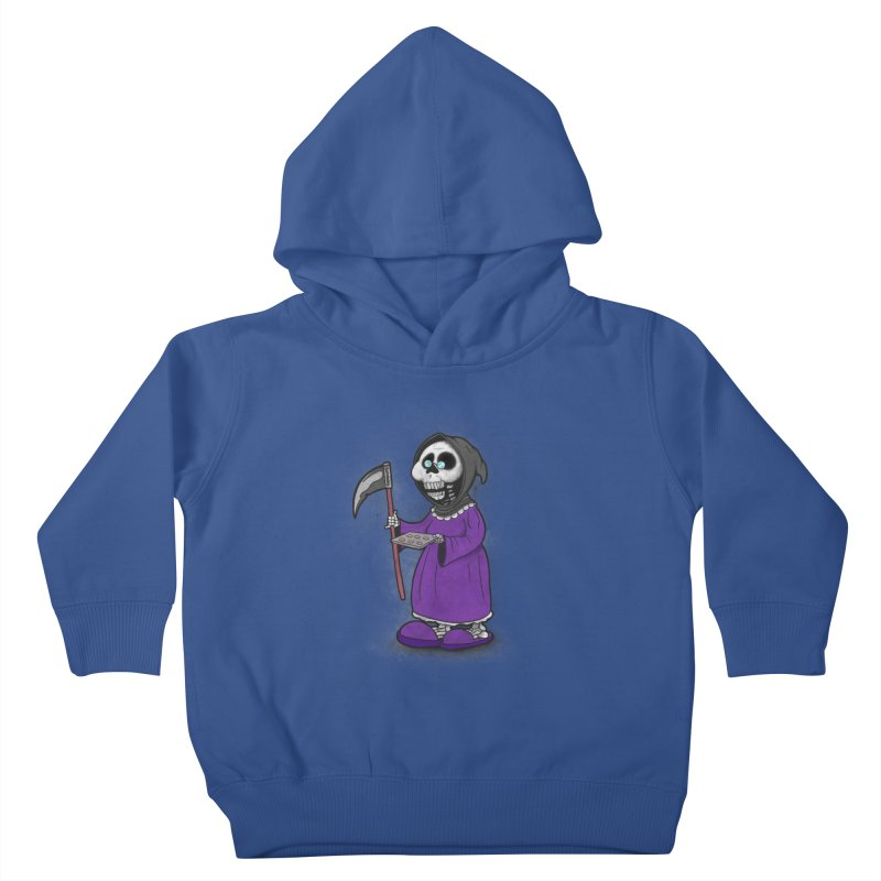 Gram Reaper Kids Toddler Pullover Hoody by 9th Mountain Threads