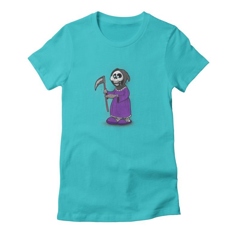 Gram Reaper Women's Fitted T-Shirt by 9th Mountain Threads