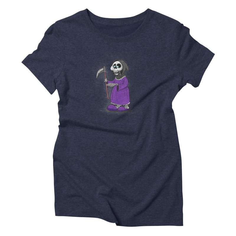 Gram Reaper Women's Triblend T-Shirt by 9th Mountain Threads