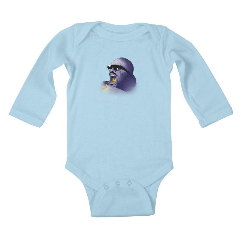 Cave of Wonder Kids Baby Longsleeve Bodysuit by 9th Mountain Threads