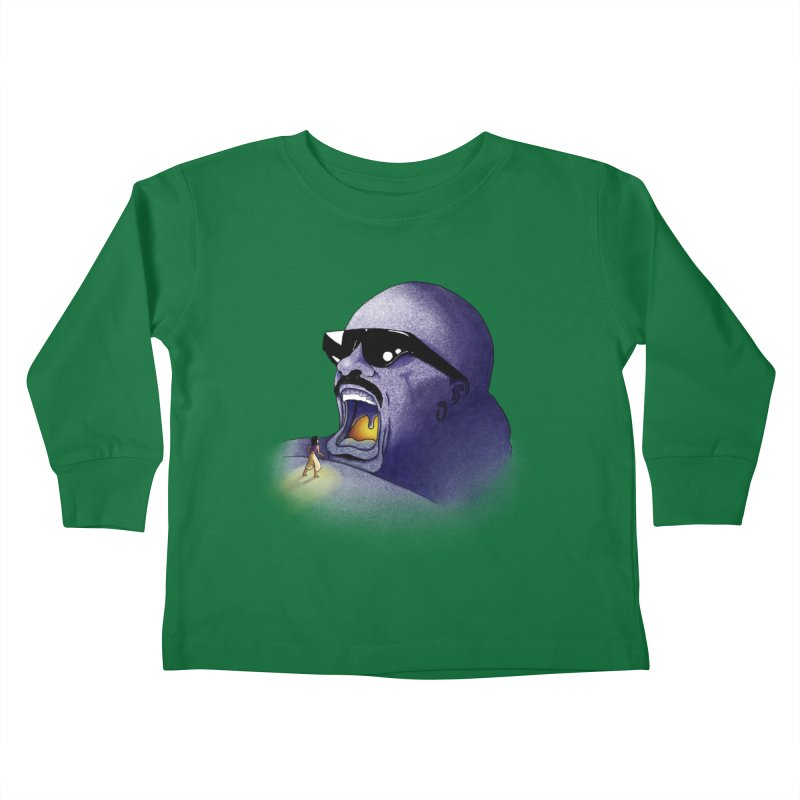 Cave of Wonder Kids Toddler Longsleeve T-Shirt by 9th Mountain Threads