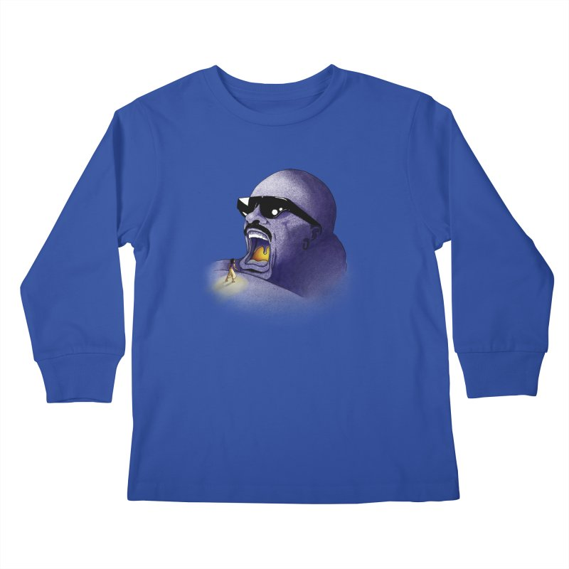 Cave of Wonder Kids Longsleeve T-Shirt by 9th Mountain Threads