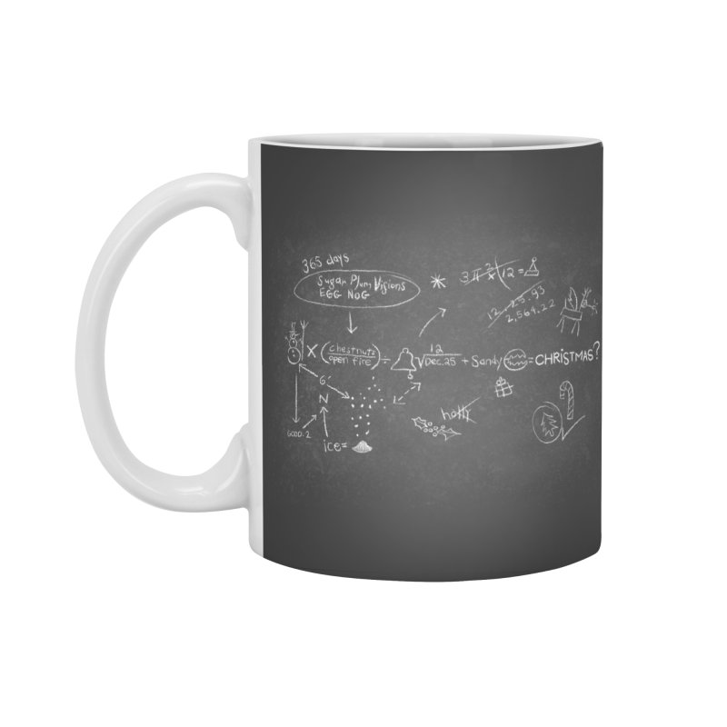Christmas Equation Accessories Standard Mug by 9th Mountain Threads